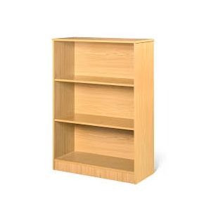 2 Shelf Wooden Draw