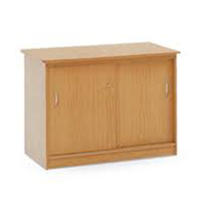 2 Door Wooden Draw